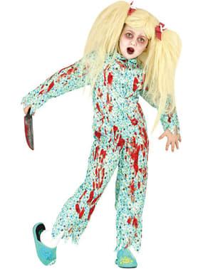 Zombiemädchen Kostüm für Mädchen