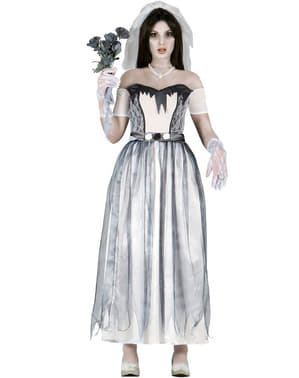 Dámský kostým mrtvá nevěsta