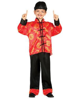 Costum de chinez mandarin pentru băiat