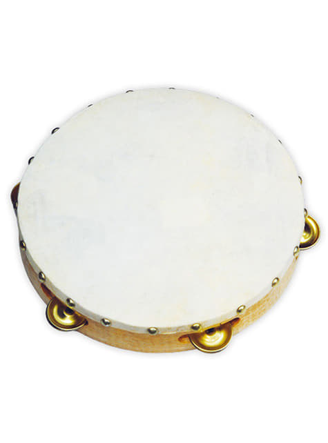 22cm Hide Tambourine