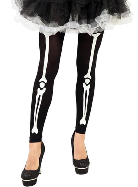 Колготки-скелет