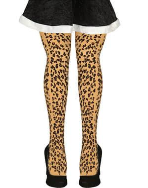 Ciorapi de leopard