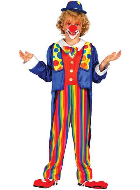 Disfraz de payaso circense para niño
