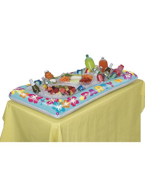 Nevera hinchable para piscina hawaiana - para tus fiestas