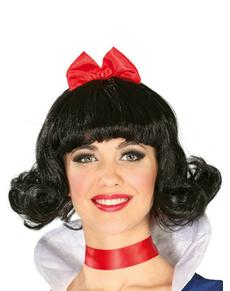 Parrucca Biancaneve da donna