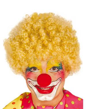 Perruque de clown blonde pour homme