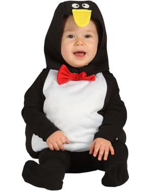 Costum de pinguin împărat pentru bebeluși