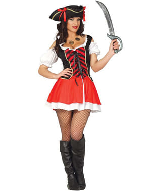 Sexy buccaneer pirate Costume for women