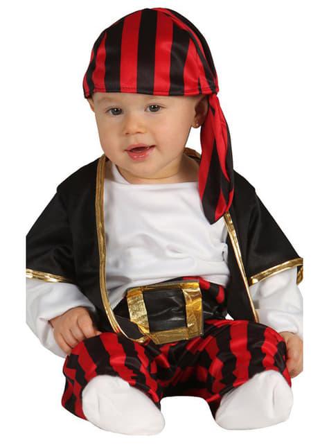 Zeerover piraat kostuum voor baby