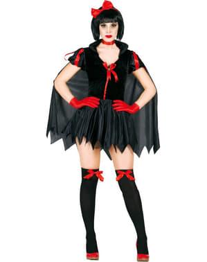 Disfraz de princesa oscura para mujer