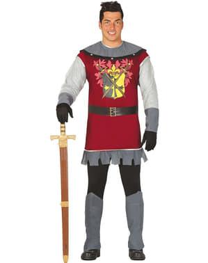 Middelalder Prins Kostyme Mann