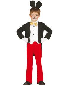 Maus Micky Kostüm für Jungen