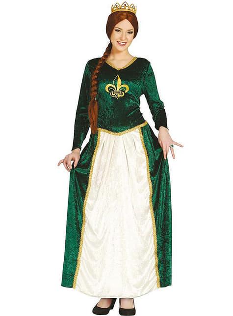 Sumpfprinzessin Kostüm für Damen