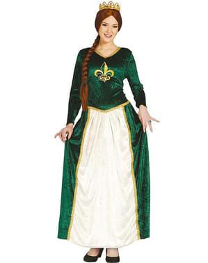 Disfraz de princesa de ciénaga para mujer