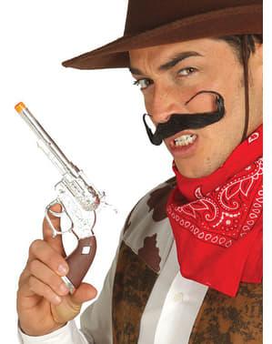 Revolver de pistolero tejano