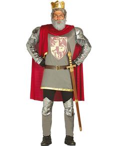 Disfraz de rey corazón de león para hombre