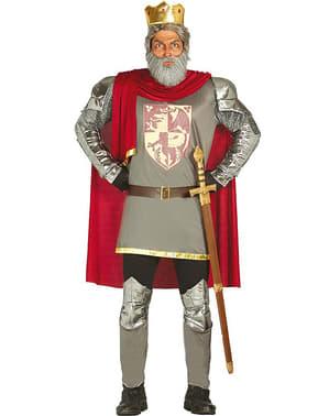 Løvehjerte Konge Kostyme Mann