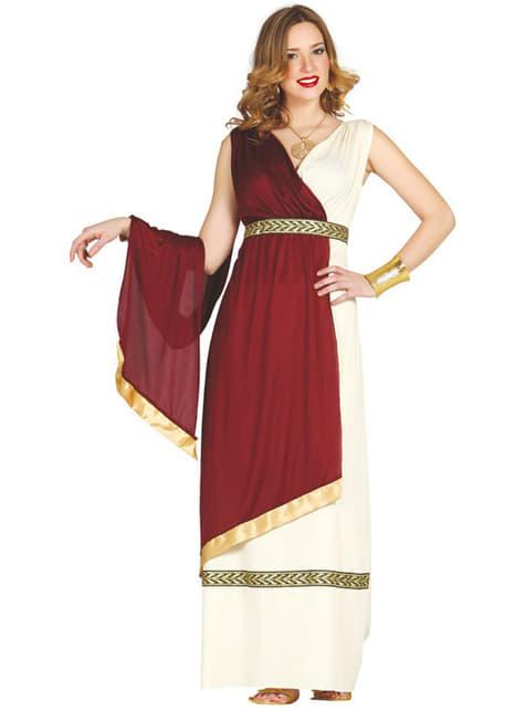 Römerin Kostüm für Damen elegant