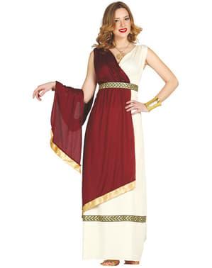 Dame Elegant Roman Kostyme