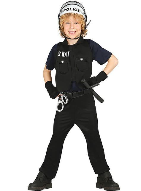 Amerikaans SWAT kostuum voor jongens