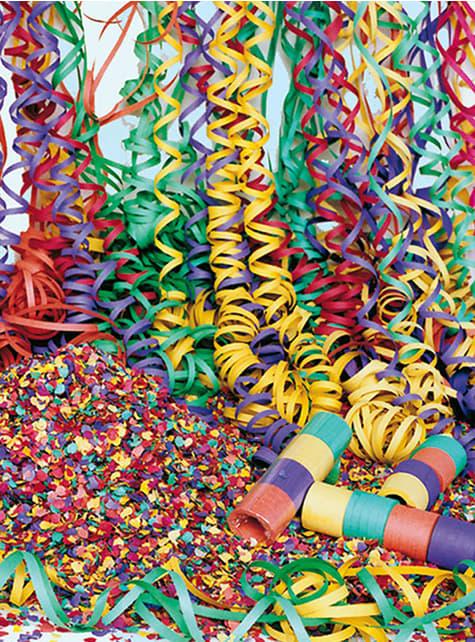 Saco de confetti multicolor 10 Kg.