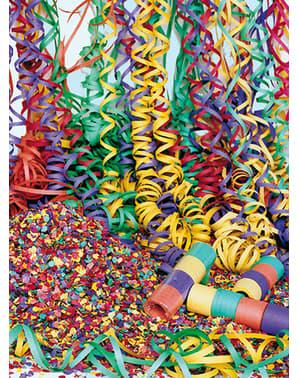 Sacco di stelle filanti multicolore da 10 Kg