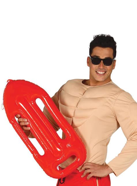 Nafukovací záchranná roura pro plavčíka