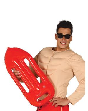 Надувна червона камера для рятувальника на пляжі