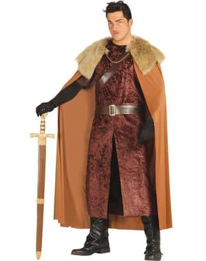 Disfraz de rey del norte para hombre