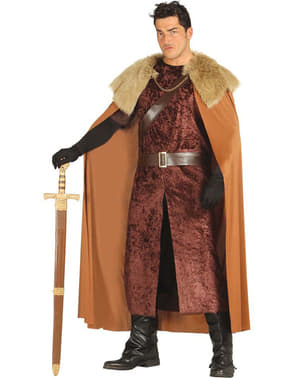 Mens King of the North Costume