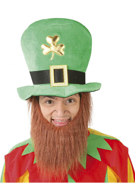 Sombrero de San Patricio con barba
