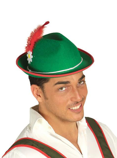 Chapéu tirolês para homem