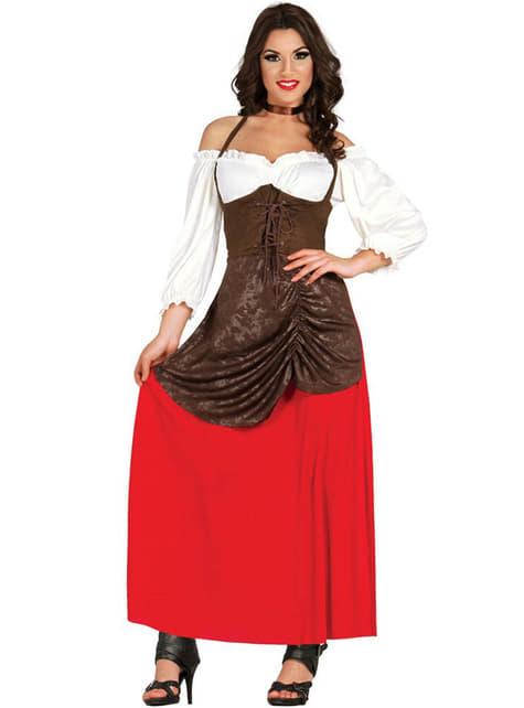 Schöne Gastwirtin Kostüm für Damen