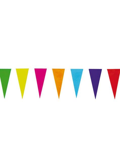 Вівсянка кольорові прапор