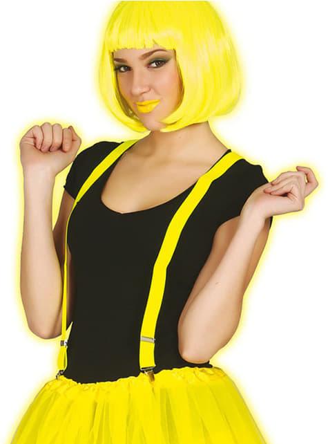 Szelki żółty neon