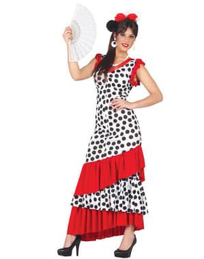 Costume da ballerina flamenca da donna