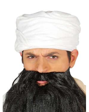 Turban blanc oriental