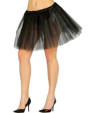 Zwarte tutu voor vrouw