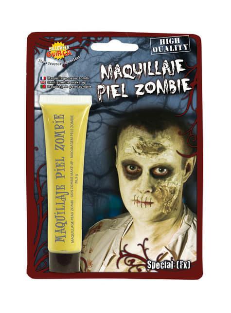 Maquillaje FX piel zombie