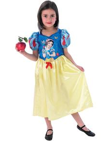 Costum Albă ca Zăpada din poveste pentru fată
