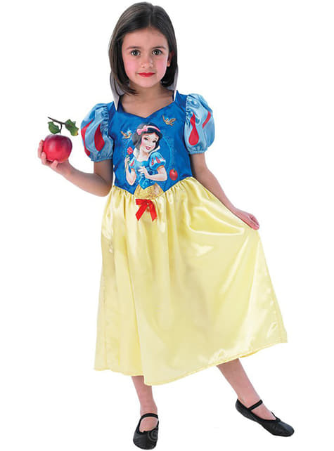 Snow White fairytale costume for a girl
