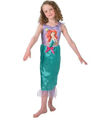 Ariel kostume til piger - Den Lille Havfrue