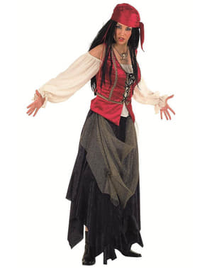 Valiant Corsair Pirate Woman Adult Costume