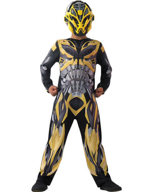 Bumblebee Transformers 4 The Era of Extinction costume for a boy