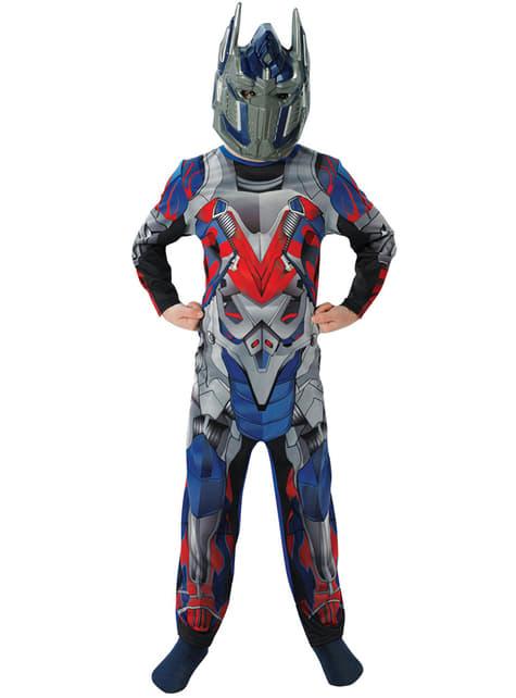 Disfraz de Optimus Prime Movie Transformers 4 La Era de la Extinción classic para niño