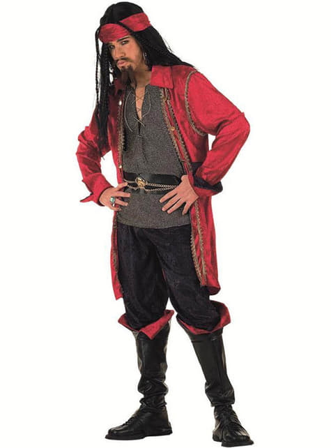 Disfraz de pirata corsario valorius