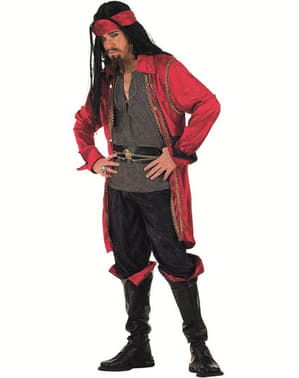 Fato de Pirata corsário Valorius