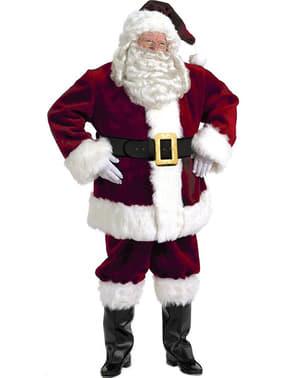 Costume di Babbo Natale professionale originale