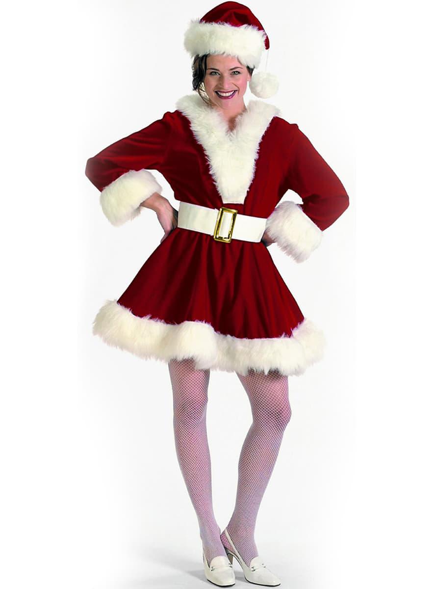 sexy weihnachtsfrau kost m f r damen online kaufen. Black Bedroom Furniture Sets. Home Design Ideas