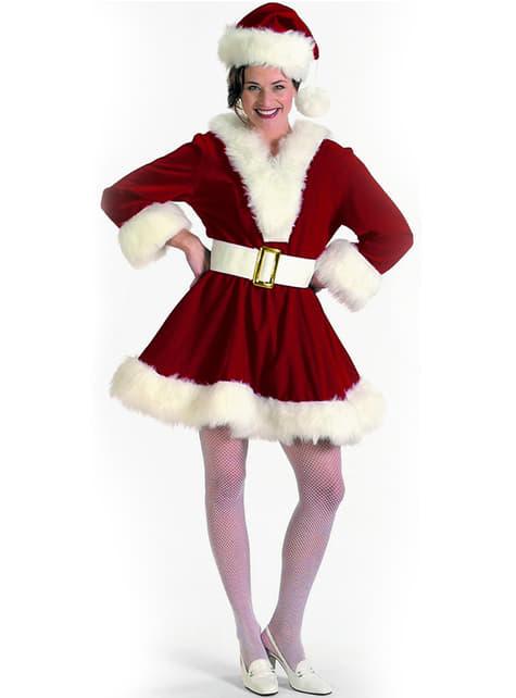 Disfraz de Mamá Noel sexy profesional para mujer